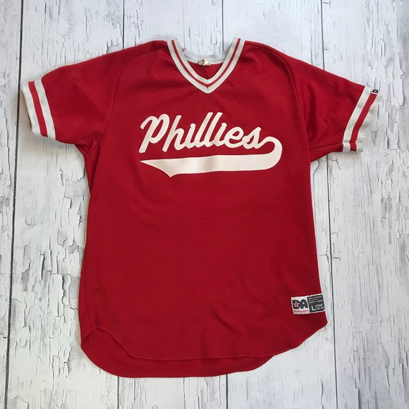 separation shoes 4c08d 7b16d Vintage Philadelphia Phillies baseball jersey